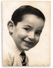 Me, 1964. Without a yellow bow tie on elastic or a front tooth.