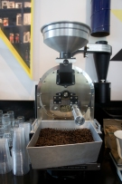 Dan's coffee roaster. Photo by Simon Wilder